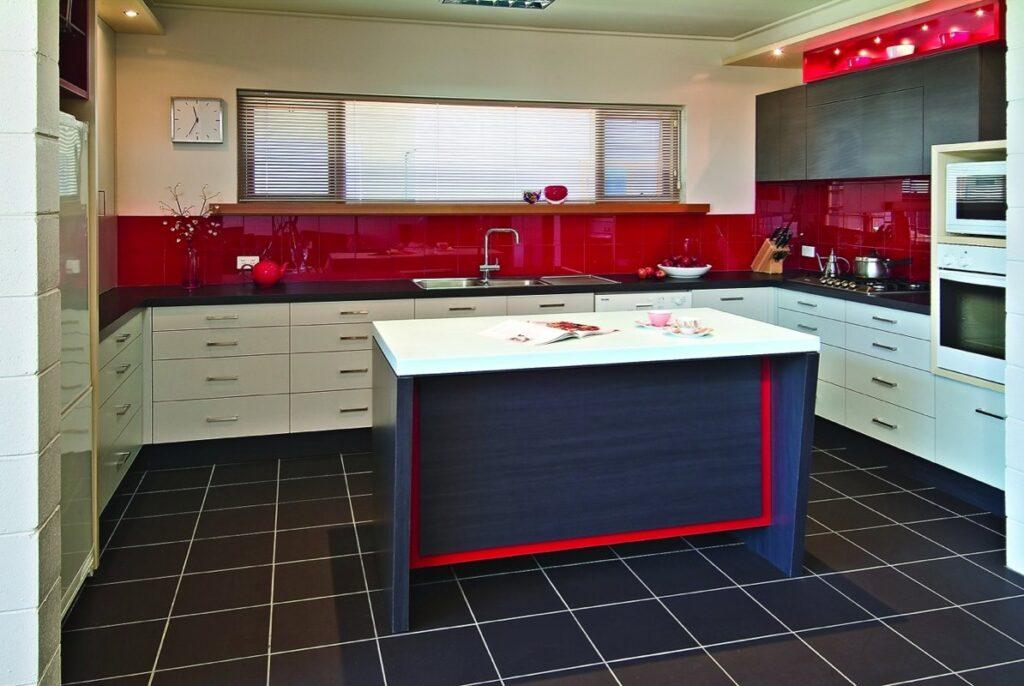 Modern and vibrant Shepparton kitchen