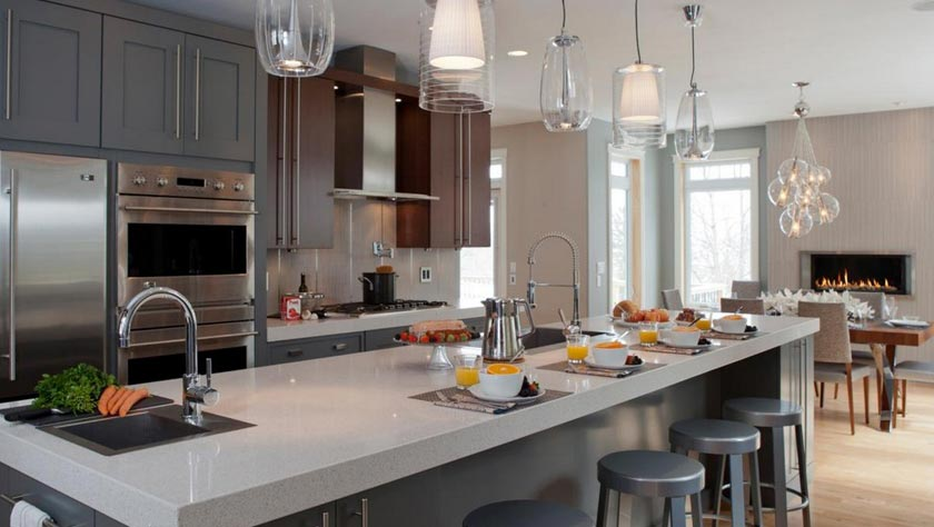 How to design a kitchen for entertaining?
